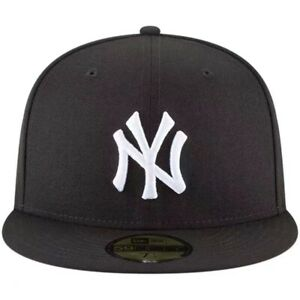 New York Yankees NYY MLB Authentic New Era 59FIFTY Fitted Cap 5950 Hat