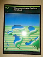 Intel Telecommunication Products Handbook 1984 Tech Manual Signal Processor Chip