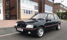 Peugeot 205 GTi 1.9 with New MOT Sorrento Green Limited Edition