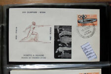 COVER OLYMPICS ROME 1960 FENCING GOLD MEDAL RUSSIA TEAM (C50)