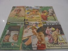 The Ladybird Key Words Reading Scheme Books x 6 Out in the Sun, Play with us