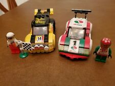 Lego City Racer Lot of 2 sets: 60113 Rally Car & 60053 City Race Car