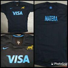 NIKE Pablo Matera Argentina training jersey PUMAS UAR RUGBY size L