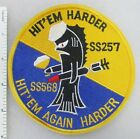 US NAVY USS HARDER SS-257 SS-568 SUBMARINE PATCH Made for Veterans & Collectors
