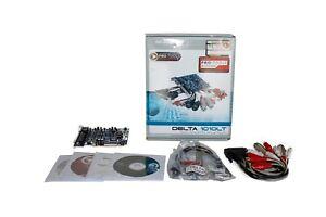 M-Audio Delta 1010LT Pro Audio Sound Card with Set Of Patch Cables
