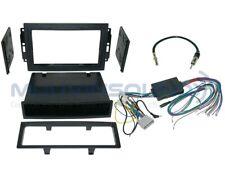 Radio Installation Dash Kit Single DIN & 2DIN + AMP SWC Harness + Antenna D56