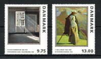 Denmark 1997 Paintings set MNH