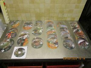 Deutsche Jagd Zeitung,  Pirsch ,  Wild  und Hund  CD / DVD   56 Sück
