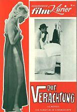 MFK 34 | DIE VERACHTUNG | Brigitte Bardot | Fritz Lang | R: Godard | Top-Zustand