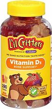 Lil Critters Vitamin D Gummy Bears 190 Each