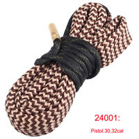 Bore Snake Pistol Gun Cleaning Kit .30 32cal Rifle Barrel Boresnake Cleaner
