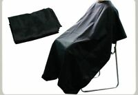 Barbers Hair Cutting Cape Hairdressing Black Gown Unisex Salon Waterproof Apron