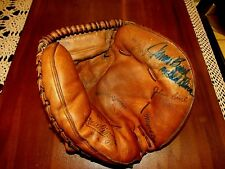 JOHNNY BENCH 10X GG HOF REDS SIGNED AUTO RAWLINGS RL-10 CATCHERS MITT FANATICS