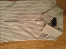 NWT MENS BURTON BUSINESS SHIRT LONG SLEEVED MULTI STRIPED BURTON SIZE UK XL!