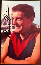 1964 MOBIL VFL CARD NO. 22/40 PERSONALLY HAND SIGNED BY BRIAN DIXON MELBOURNE