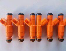 Bosch Upgrade 4 Hole Jeep Cherokee 99-04 4.0L Fuel Injector Set of 6 EV6 19lb