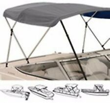 "3 Bow Low Profile Bimini Tops for Boats Fits 72"" L X 36"" H X  67 "" to 72 "" Wide"