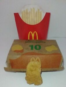 Mcdonald's Chicken Nugget Among Us Shape from BTS meal