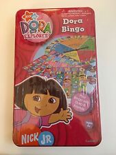 Dora The Explorer Bingo Game In Tin Nick Jr. Childrens Kids Game New