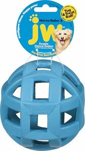 JW Holee - Molee Extreme Durable Lattice Rubber Ball Play Fetch Dog Toy.. Size 5