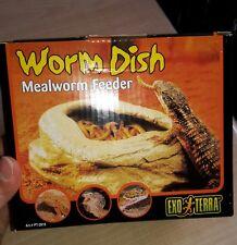 Worm DISH Exo terra  (Mangeoire reptile = ver de farine)