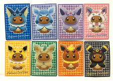 Poncho Eevee Card Sleeves 2017 Pokemon Center Japanese Exclusive Complete Set 8