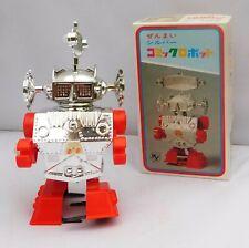 ROBOT WIND-UP WALKING ROBOT. Vintage made in Japan. Ht; 19 cm. 1970/1980