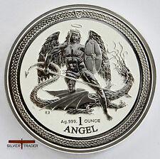 2016 1oz Angel Isle of Man 1 ounce silver bullion coin unc: