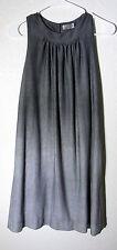Francesca's Collections Womens Sleeveless Ombre Gray Grey Size M Medium