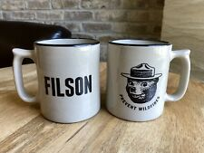 New Filson X Red Wing Stoneware Co. Smokey Bear Mug