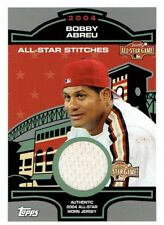 Bobby Abreu 2005 Topps All-Star Stitches Relics Jersey Card #BA