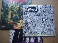 RIPCORD Discography 1, 2 & 3 LP - complete set 2015 Skuld REISSUE heresy dys ssd