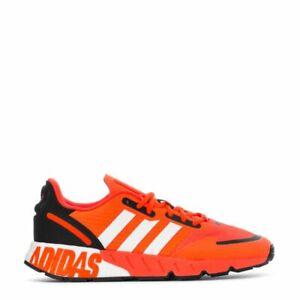 {FY3631} Men's adidas ZX 1K Boost Shoes - Orange *NEW*
