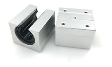 New 2pcs Sbr25Uu Linear Bearing 25mm Open Linear Bearing Slide block