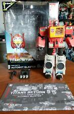 New listing Hasbro Transformers Titans Return Blaster Complete - Mib