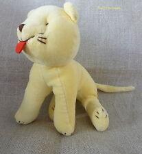 Jacadi***Doudou/peluche velours Chat/Cat jaune