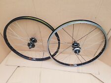 "Sum Rims Rhyno Lite / Free Agent Hubs Single speed 24"" Rim Brake Bike Wheel set"