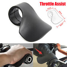 Motorcycle Control Throttle Assist Wrist Rest Grip Cramp Saver Buster Black