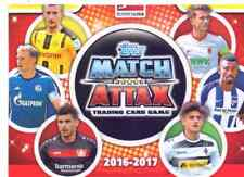 Match Attax 2016/17 Bundesliga 50 verschiedene Karten Sammlung Posten Lot #2