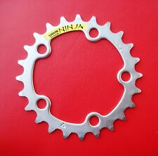 "Sakae Ninja MTB 24T 3/32"" Triple Chainring Chainwheel 74BCD Sprocket  Stainless"