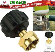 Propane Refill Adapter Gas Tank Disposable Cylinder For 1lb Tanks BBQ Grill Kit