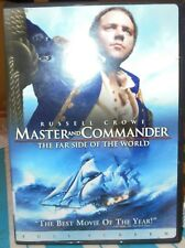 MASTER AND COMMANDER - DVD MOVIE - PLAYS GREAT - RUSSELL CROWE