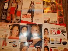 LEIGHTON MEESTER  CELEBRITY  CLIPPINGS PACK  GOOD CONDITION