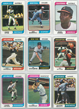 1974 74 Topps LOT YOU PICK SINGLES 15 / $2 - COMPLETE YOUR SET!! Updated 6/18/19