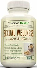 Vimerson Health Sexual Wellness for Women & Men 100% All Natural 90 Ct