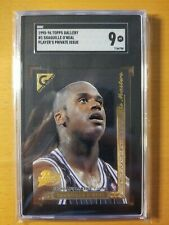 1995-96 SHAQUILLE O'NEAL - TOPPS GALLERY PRIVATE PLAYERS ISSUE SHAQ #1 SGC 9