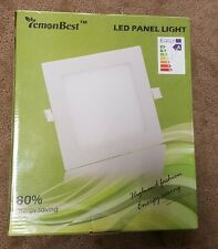 Lemonbest 18 Watt LED Panel Light, Square Recessed Lighting Fixture Kit