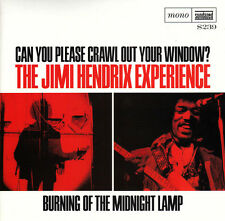 "JIMI HENDRIX 'Burning of the Midnight Lamp 7"" vinyl psychedelic stratocaster LP"
