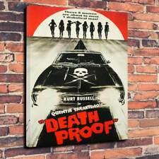 "Death Proof Printed Box Canvas Picture A1.30""x20"" 30mm Deep Quentin Tarantino"