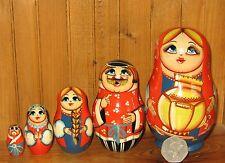 Russisch KLEIN verschachtelte puppen familie 5 Traditionell design Matroschka